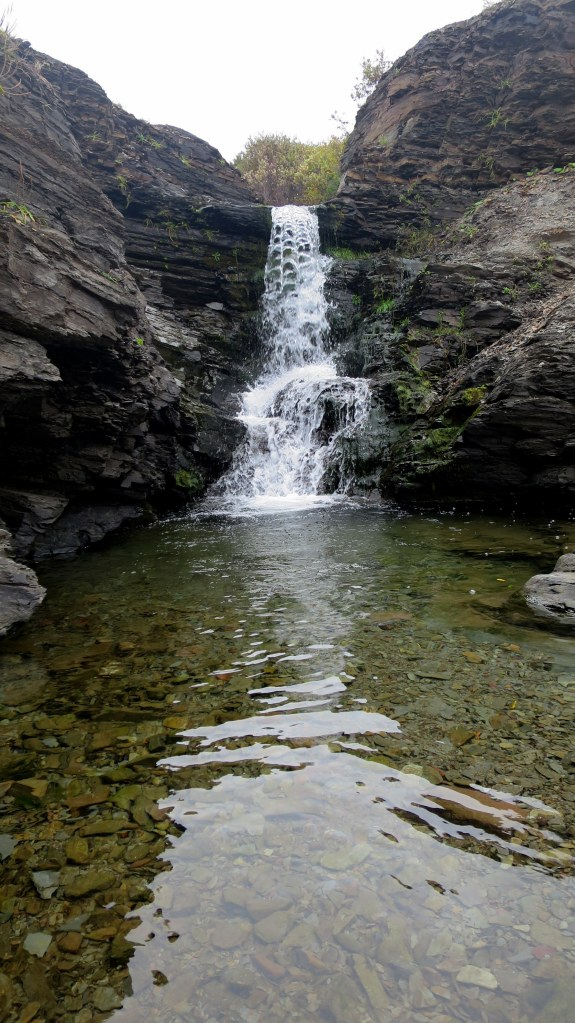 Waterfall, Arisaig Brook, Arisaig Provincial Park, Nova Scotia, Canada