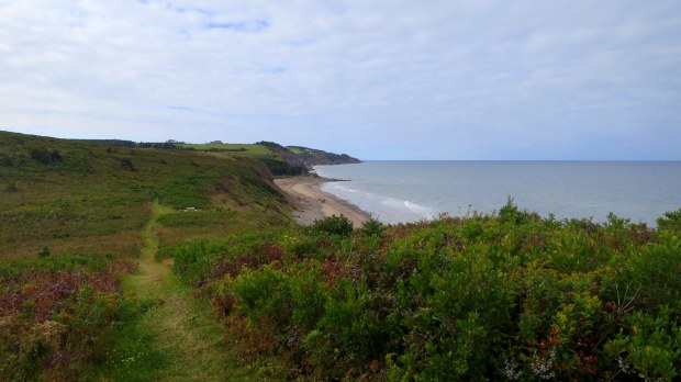 Headlands, Western Coastal Trail, West Mabou Beach Provincial Park, Nova Scotia, Canada