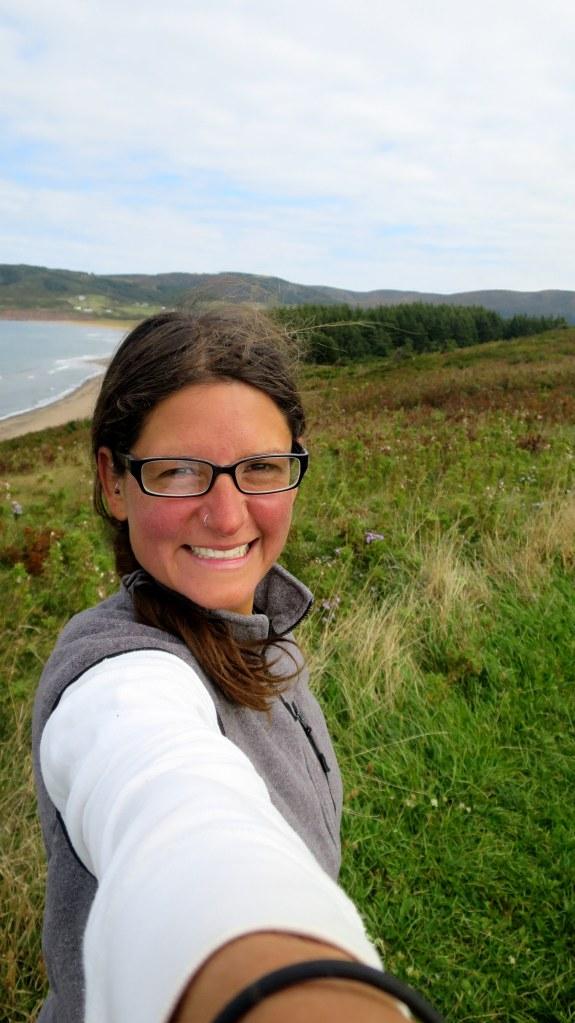 Me, Western Coastal Trail, West Mabou Beach Provincial Park, Nova Scotia, Canada