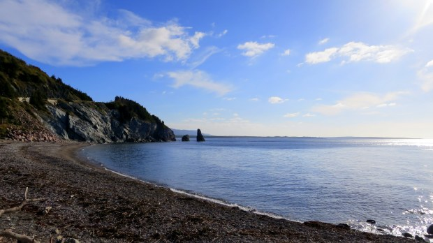 Pillar Rock, Cape Breton Highlands National Park, Nova Scotia, Canada