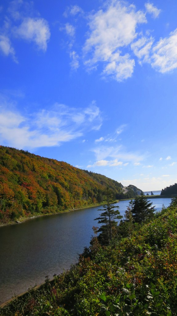 Another view of the lake near Pillar Rock, Cape Breton Highlands National Park, Nova Scotia, Canada