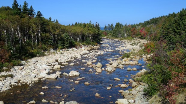 MacKenzie River, Cape Breton Highlands National Park, Nova Scotia, Canada