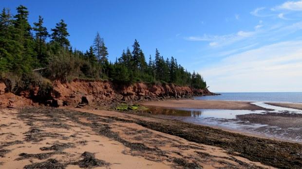 Beach walk, Prince Edward Island, Canada