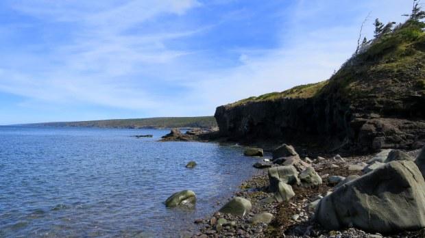 Beach detour, High Cliff Cove Trail, Digby Neck, Nova Scotia, Canada