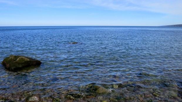 Rocky shore, High Cliff Cove Trail, Digby Neck, Nova Scotia, Canada