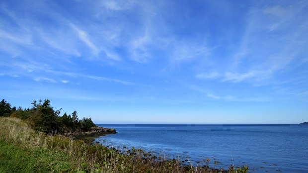 High Cliff Cove Trail, Digby Neck, Nova Scotia, Canada