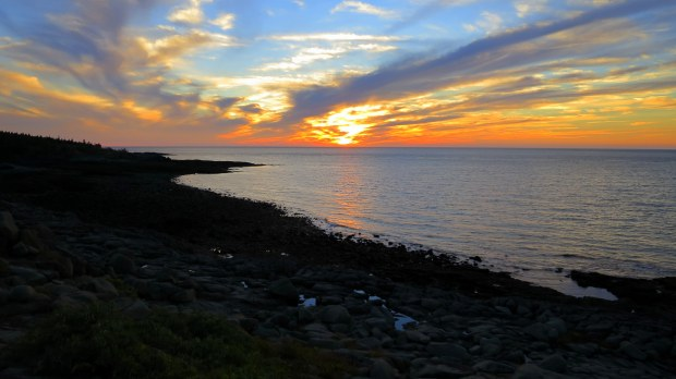Sunset, Prim Point Lightstation, Digby, Nova Scotia, Canada