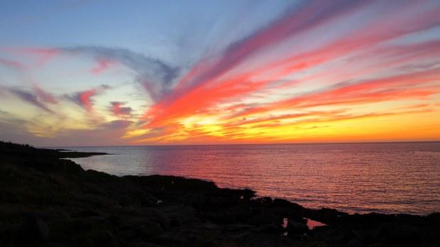 Sunset, Prim Point Lightstation, Digby, Nova Scotia, Canada