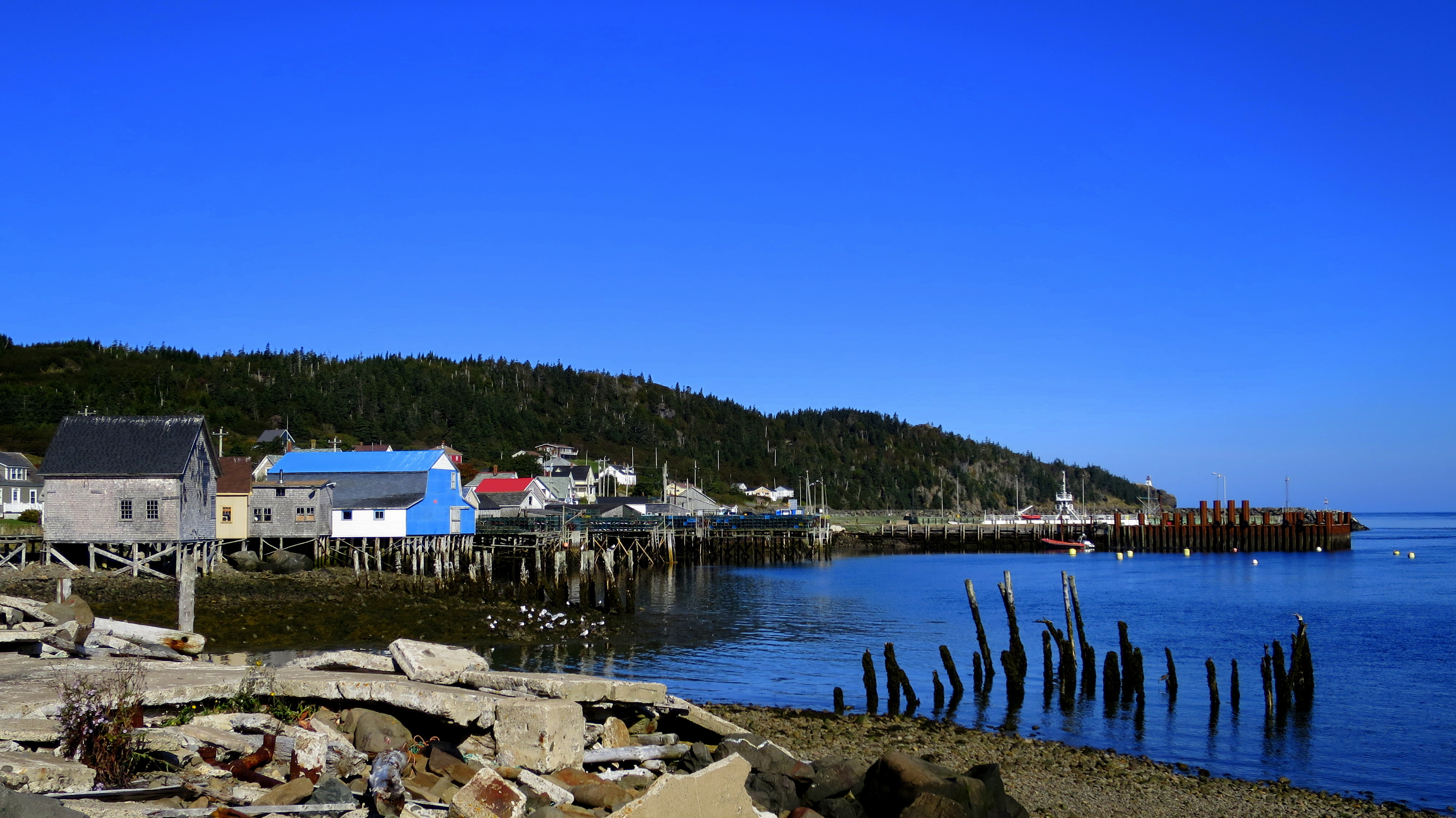 Island Of Long And Brier In Nova Scotia