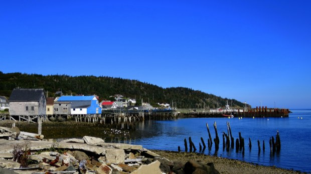 Tiverton Harbor, Long Island, Nova Scotia, Canada