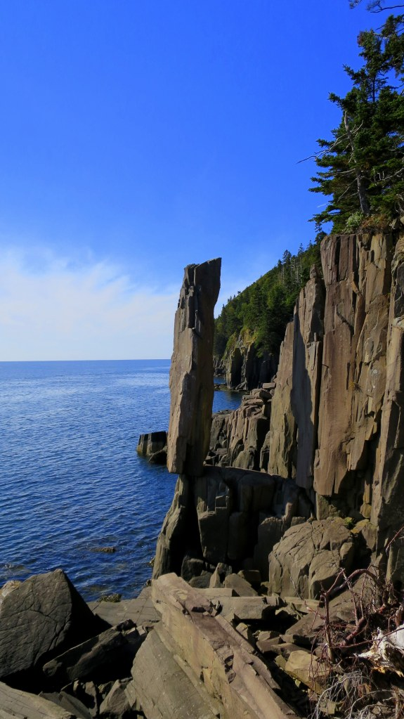 Balanced Rock, Long Island, Nova Scotia, Canada