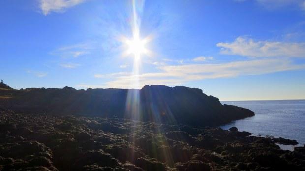 Late afternoon sun on the Coastal Trail, Brier Island, Nova Scotia, Canada