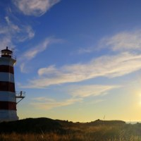 Western Light and the Coastal Trail, Brier Island Nature Preserve