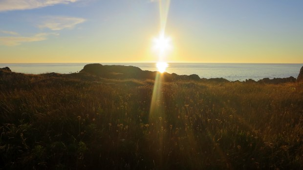Before sunset near Western Light, Brier Island, Nova Scotia, Canada