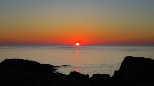 Sunset from Western Light, Brier Island, Nova Scotia, Canada
