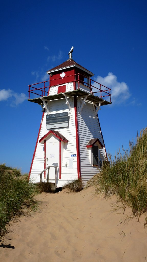 Covehead Harbour Lighthouse, Brackley-Dalvay, Prince Edward Island National Park, Prince Edward Island, Canada