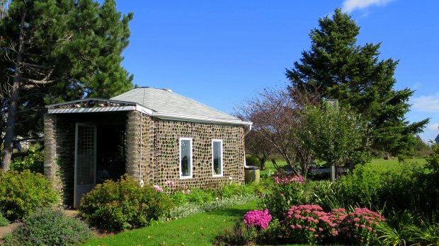 Exterior, Tavern, Bottle Houses, Prince Edward Island, Canada