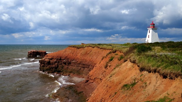 Cape Egmont Lighthouse, Cape Egmont, Prince Edward Island, Canada