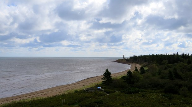 View from observation tower, Cape Jourimain National Wildlife Refuge, New Brunswick, Canada