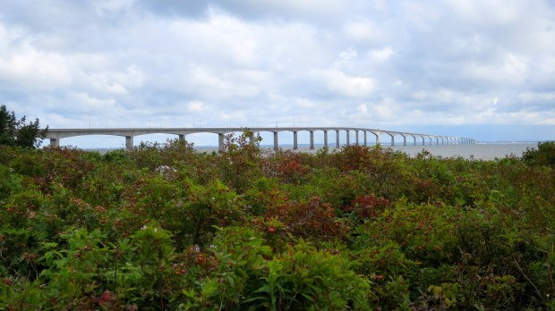 Confederation Bridge, Lighthouse Trail, Cape Jourimain National Wildlife Refuge, New Brunswick, Canada