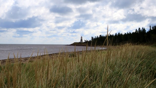 Cape Jourimain Lighthouse, Lighthouse Trail, Cape Jourimain National Wildlife Refuge, New Brunswick, Canada