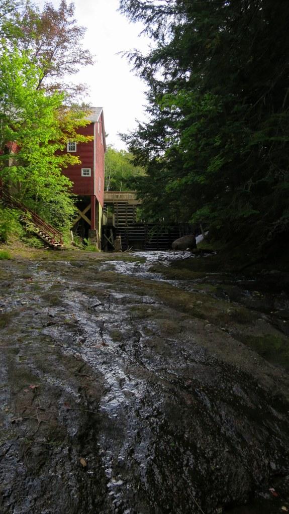 Downstream of Balmoral Grist Mill and dam, Nova Scotia, Canada