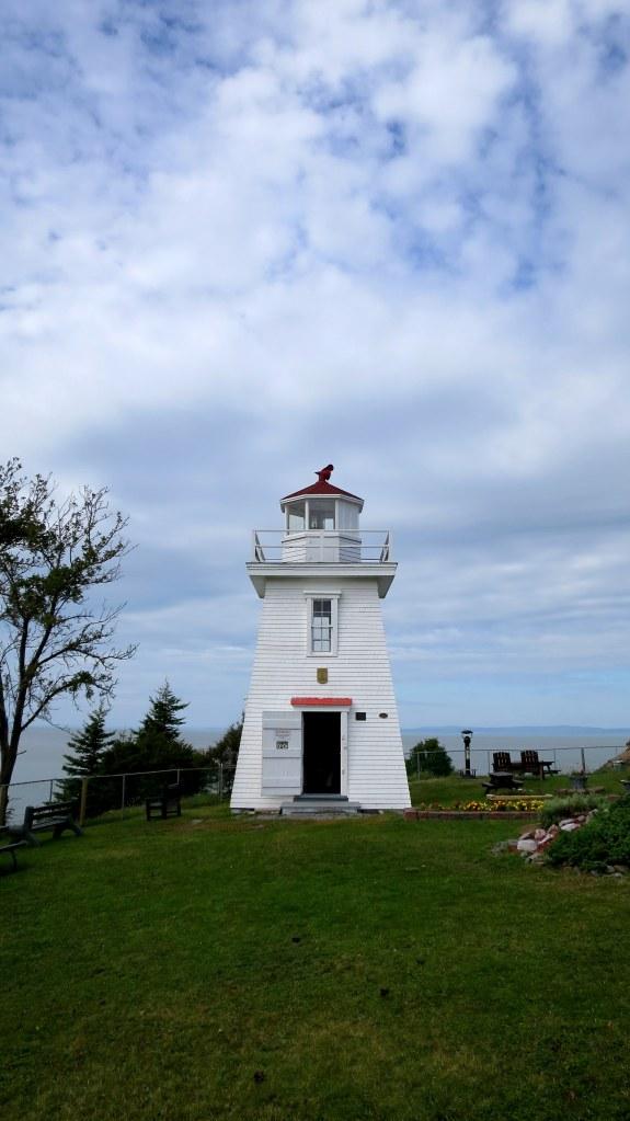 Walton Lighthouse, Walton Harbour, Nova Scotia, Canada