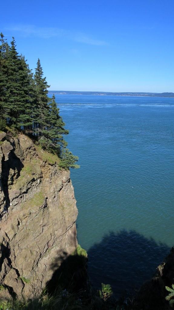View onto Minas Basin, Cape Split Trail, Cape Split Provincial Park, Nova Scotia, Canada