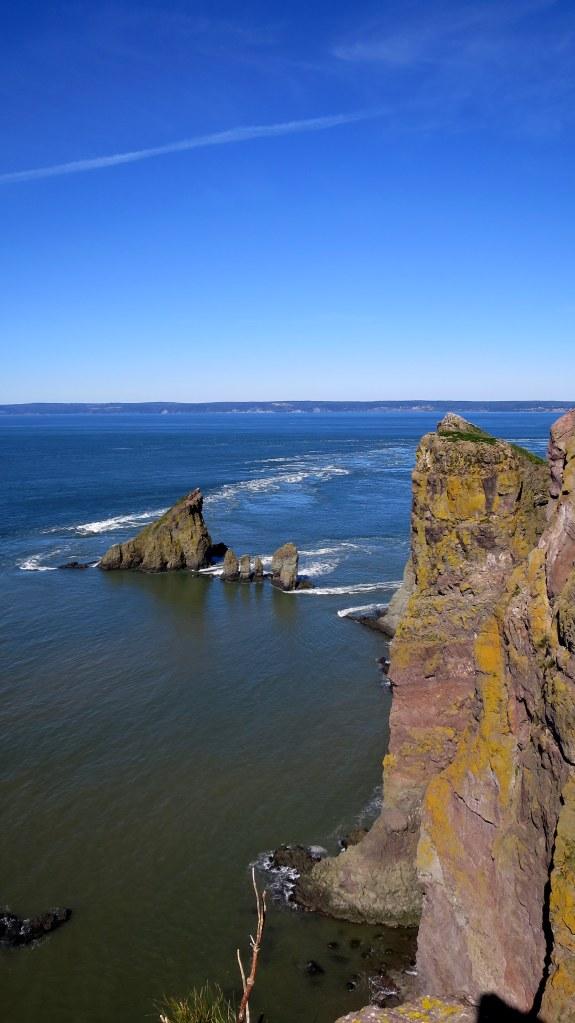 Tip of headland, Cape Split Trail, Cape Split Provincial Park, Nova Scotia, Canada