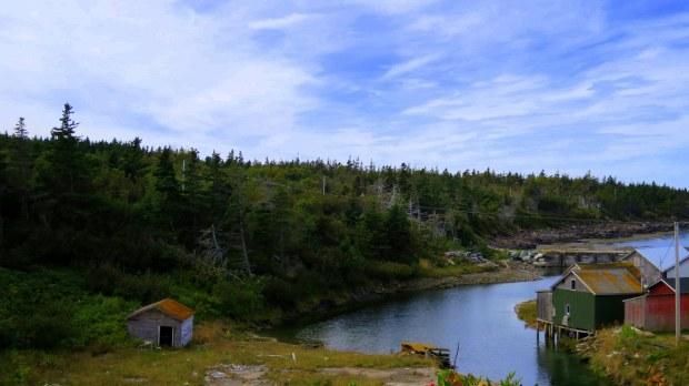 Harbor, Digby Neck, Nova Scotia, Canada