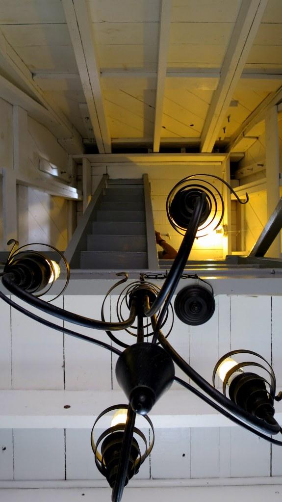 Interior, Spencer's Island Lighthouse, Spencer's Island, Nova Scotia, Canada