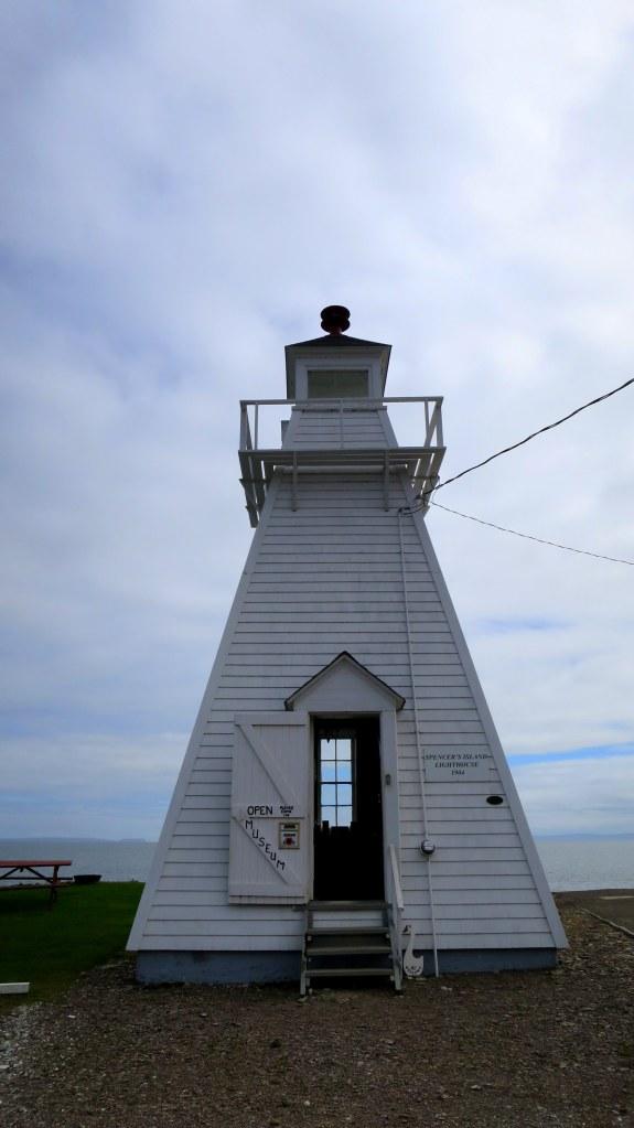Spencer's Island Lighthouse, Spencer's Island, Nova Scotia, Canada