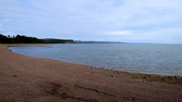 Beach, Spencer's Island, Nova Scotia, Canada