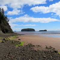 Wasson Bluffs and the Fundy Geological Museum