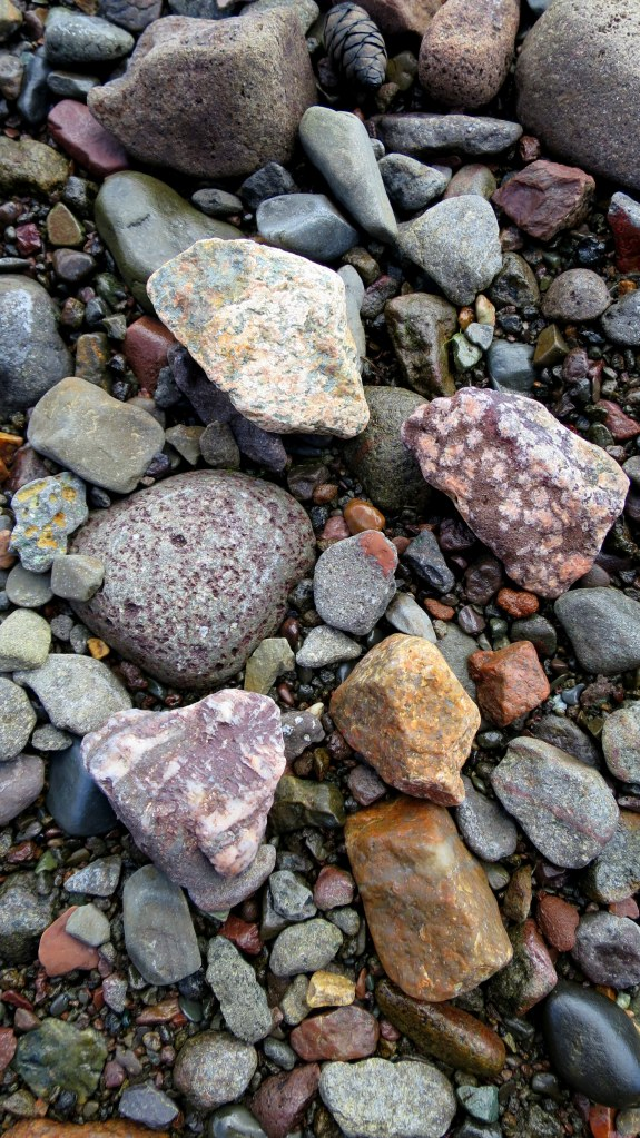 More rocks, Wasson Bluff, Parrsboro, Nova Scotia, Canada