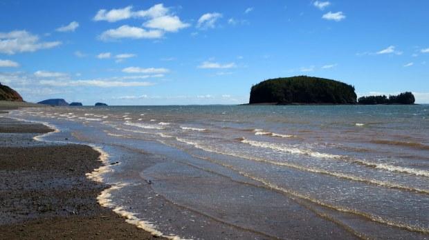 Wasson Bluff, Parrsboro, Nova Scotia, Canada