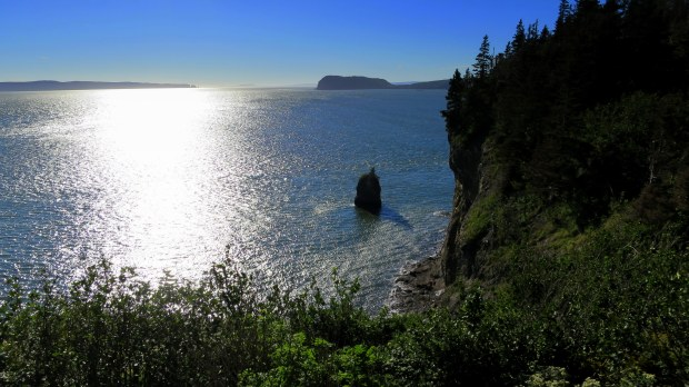 View from Partridge Island Trail, Partridge Island, Parrsboro, Nova Scotia, Canada
