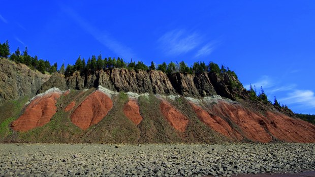 Red Cliffs, Five Islands Provincial Park, Nova Scotia, Canada
