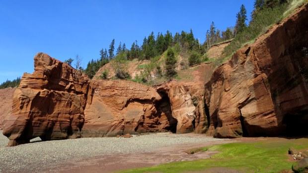 Red Head, Five Islands Provincial Park, Nova Scotia, Canada
