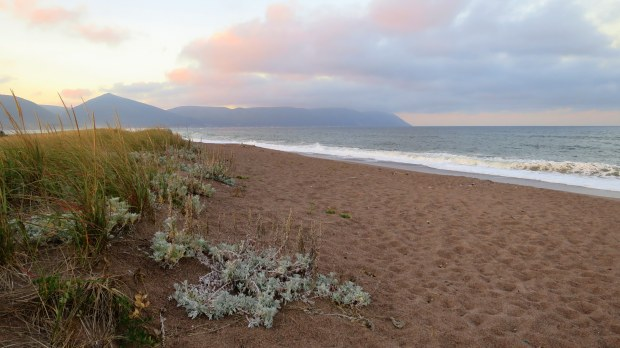 Twilight on Dingwall Beach, Cape Breton Island, Nova Scotia, Canada