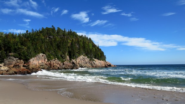 Beach at Black Brook Cove, Cape Breton Highlands National Park, Nova Scotia, Canada