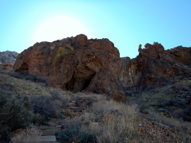Caves, Aztec Caves Trail, Franklin Mountains State Park, El Paso, Texas
