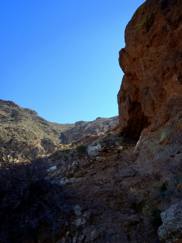 More caves, Aztec Caves Trail, Franklin Mountains State Park, El Paso, Texas