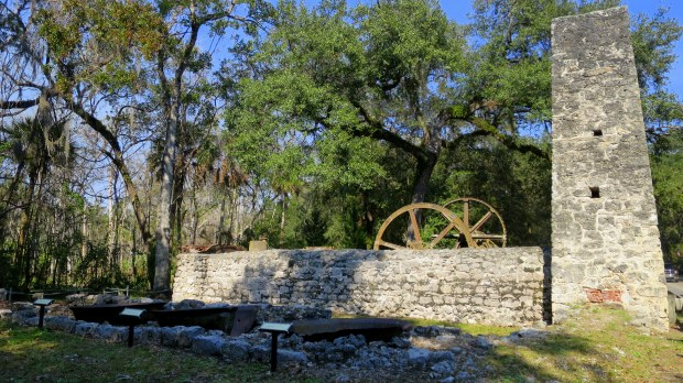Yulee Sugar Mill Ruins State Park, Florida