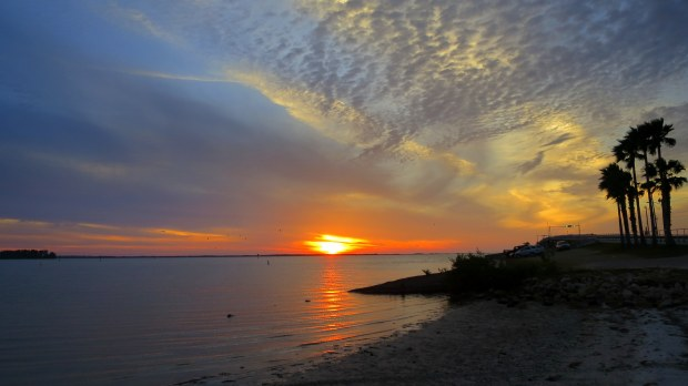 Sunset from the Dunedin Causeway, Florida
