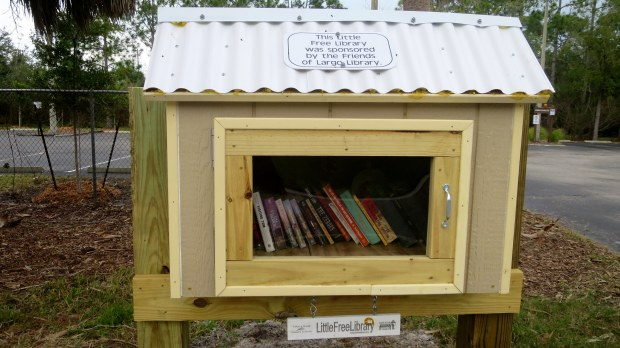 Little Free Library, George C. McGough Nature Park, Largo Narrows, Florida