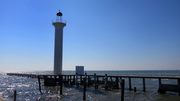 Lighthouse (not the famous Biloxi Light), Biloxi, Mississippi