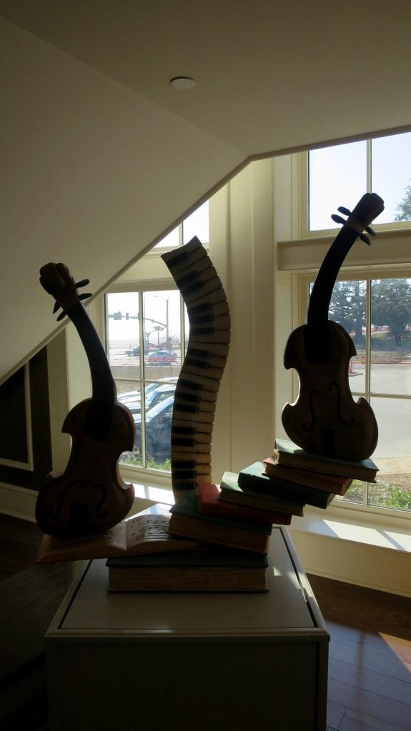 Wood sculpture, Visitor Center, Biloxi, Mississippi