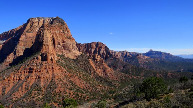 Timber Creek Overlook Trail, Kolob Canyon, Zion National Park, Utah