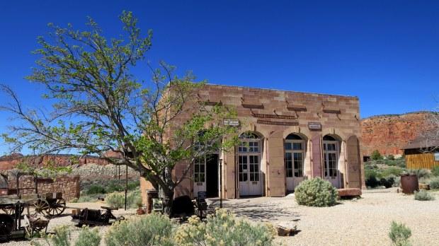 Original Wells Fargo Building, ca. 1877, Silver Reef, Utah
